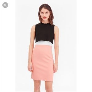 NWT French Connection Color Block Dress Sz 6